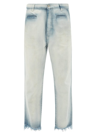Bleached Fisherman Jeans