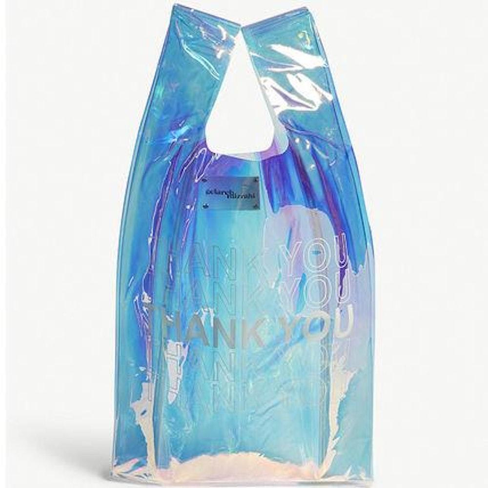 Thank You Bodega Bag Hologram Iridescent