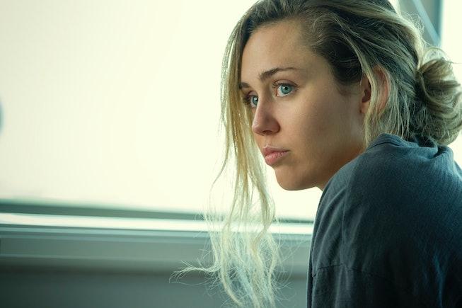 Miley Cyrus as Ashley O. in 'Black Mirror.'