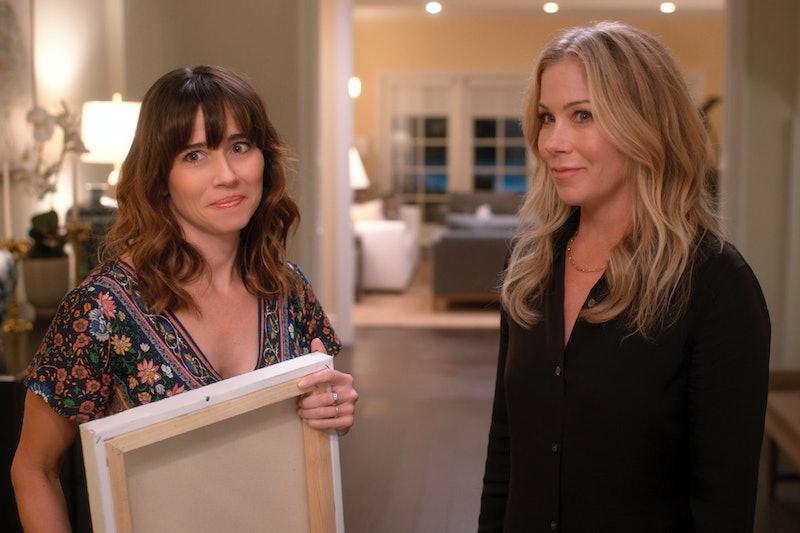 Linda Cardellini as Judy Hale & Christina Applegate as Jen Harding in 'Dead to Me'