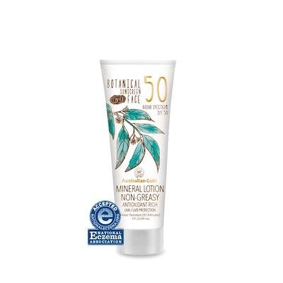 Botanical SPF 50 Tinted Face Sunscreen Lotion