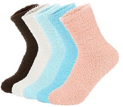 Zando Slipper Socks (5-Pack)