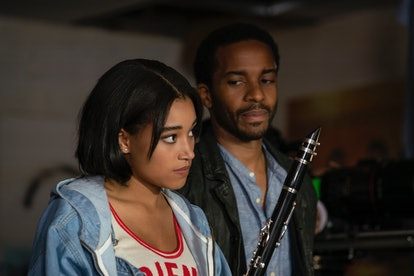 Andre Holland's Elliot Udo reconnects with his daughter Julie in The Eddy.