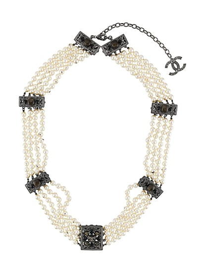 2015 faux pearl necklace