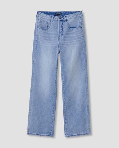 Bae Boyfriend Straight Leg Jeans - Light Blue