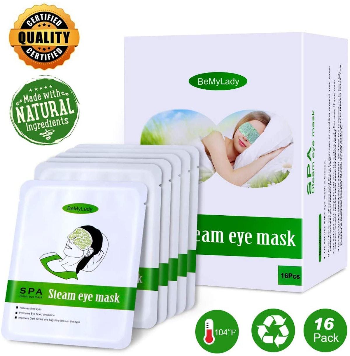 ProCIV Steam Eye Mask