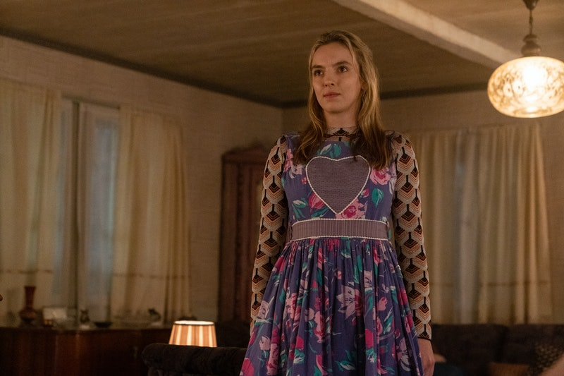 Jodie Comer as Villanelle in Killing Eve on BBC America