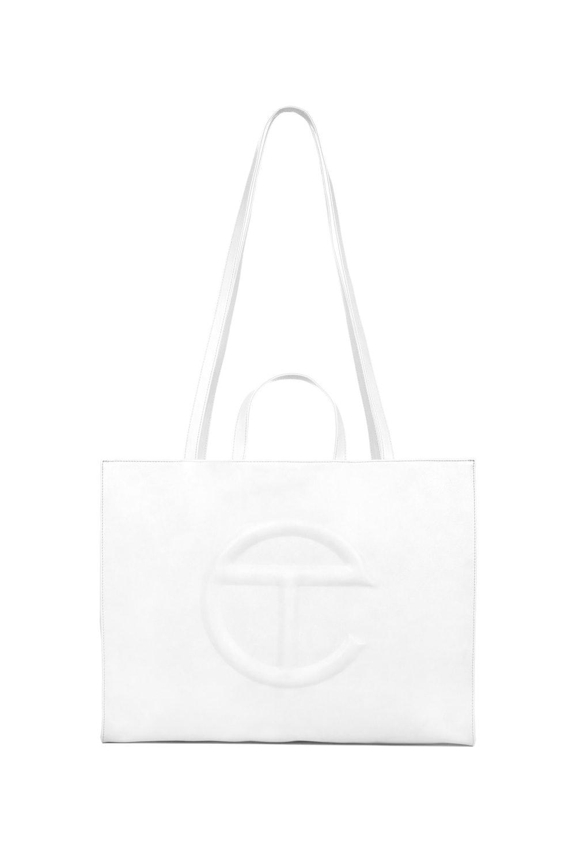 Large White Shopping Bag