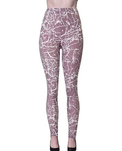 VIV Collection Printed Brushed Leggings (Design List 5)