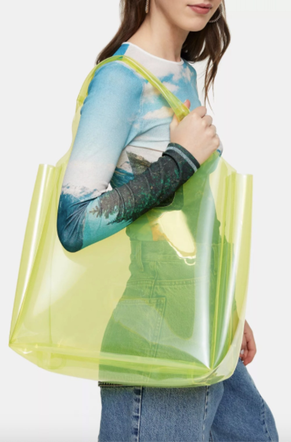 JELLY Lime Green Tote Bag