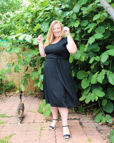 The French Terry Midi Dress