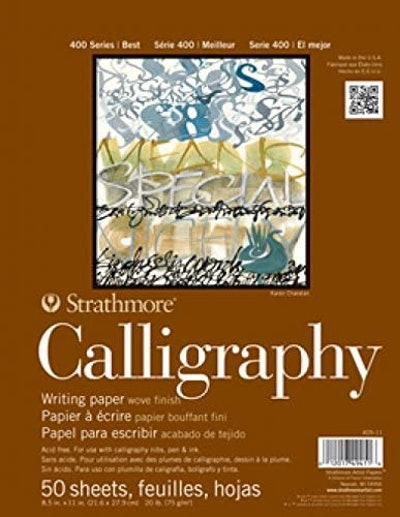 Strathmore Calligraphy Writing Paper (50 Sheets)