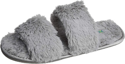 Roxoni Womens Fuzzy House and Spa Slippers