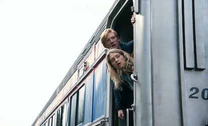 Domhnall Gleeson as Billy and Merritt Wever as Ruby in 'Run' Season 1
