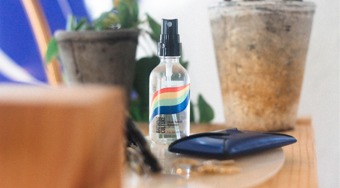 Bathing Culture's High Spirits Sanitizer is the newest product from the brand.