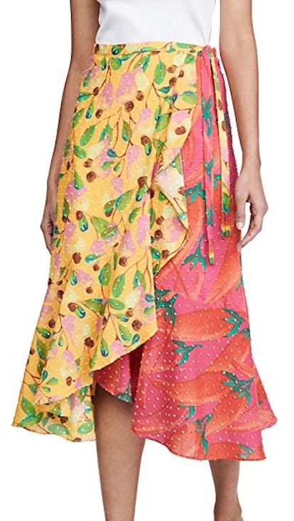 Garden Mix Wrap Skirt