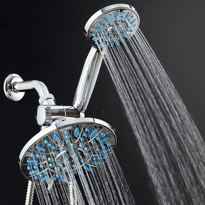 AquaDance Anti-Clog Rainfall Shower
