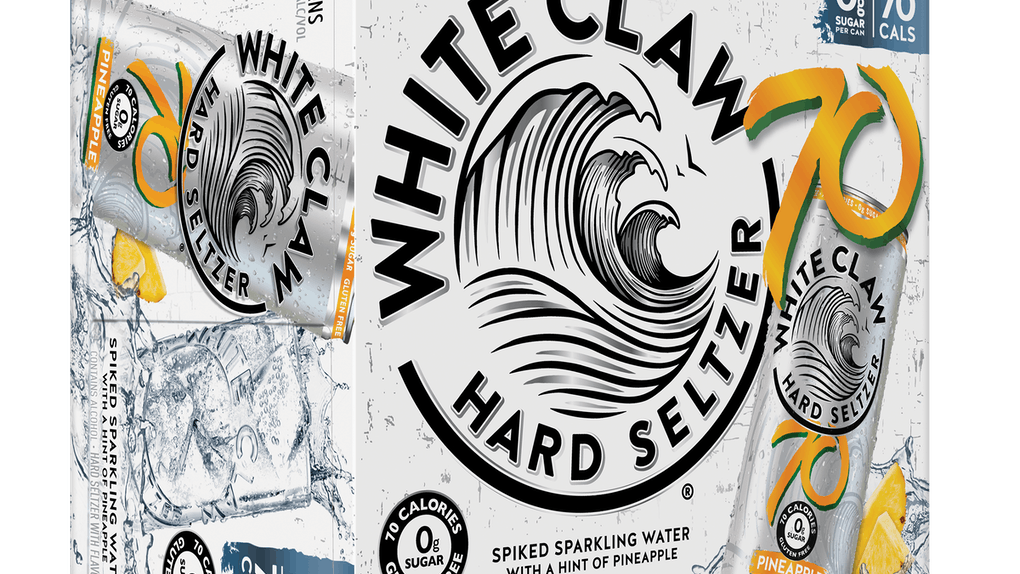 White Claw's new Pineapple and Clementine flavors are like summer in a can.