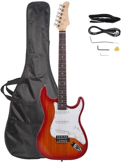"Z ZTDM Full Size 39"" Rosewood Fingerboard Electric Guitar"