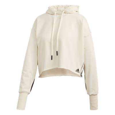 Adidas Must Haves Recycled Cotton Cropped Hoodie