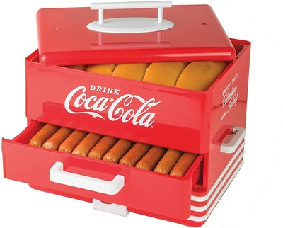 Nostalgia Coca-Cola Diner-Style Steamer