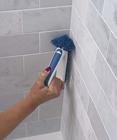 Unger 2-In-1 Grout And Corner Scrubber