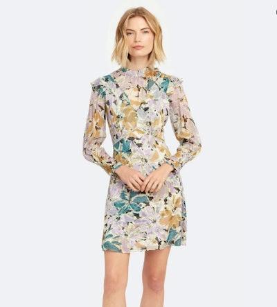 Elinor Mock Neck Mini Dress