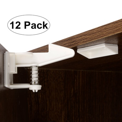 Vkania Child Safety Cabinet Locks Latches (12-Pack)