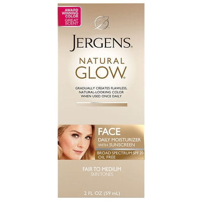 Jergens Natural Glow Oil-Free Daily Moisturizer for Face