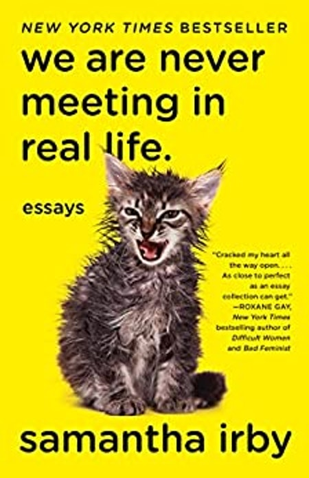 We Are Never Meeting In Real Life by Samantha Irby