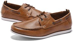 GM GOLAIMAN Slip-On Men's Boat Shoes