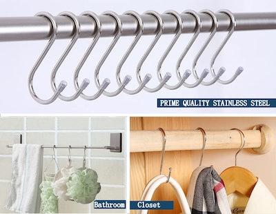 Evob Stainless Steel Hanging Hooks