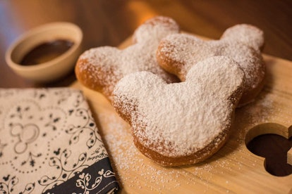 Disney's mickey mouse beignet recipe brings some of the theme park to your home.
