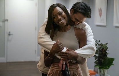 Yvonne Orji as Molly and Alexander Hodge as Andrew in 'Insecure' Season 4