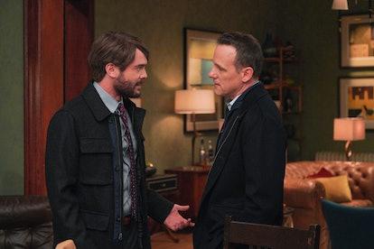 Charlie Weber as Frank Delfino & Tom Verica as Sam Keating in 'HTGAWM'