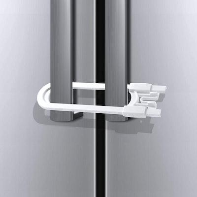 Adoric Sliding Cabinet Locks (4-Pack)