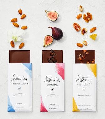 Kosterina Olive Oil Dark Chocolate bars [6 bars
