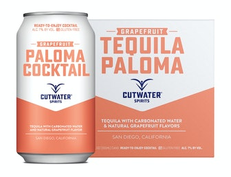 Cutwater Canned Cocktails (Tequila Paloma 4-pack)