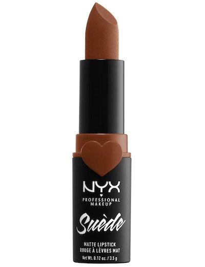 NYX Suede Matte Lipstick In Peach Don'T Kill Me