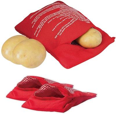 OBTANIM Microwave Potato Bag (2-Pack)