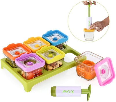 X-Chef Vacuum Seal Containers (Set of 6)