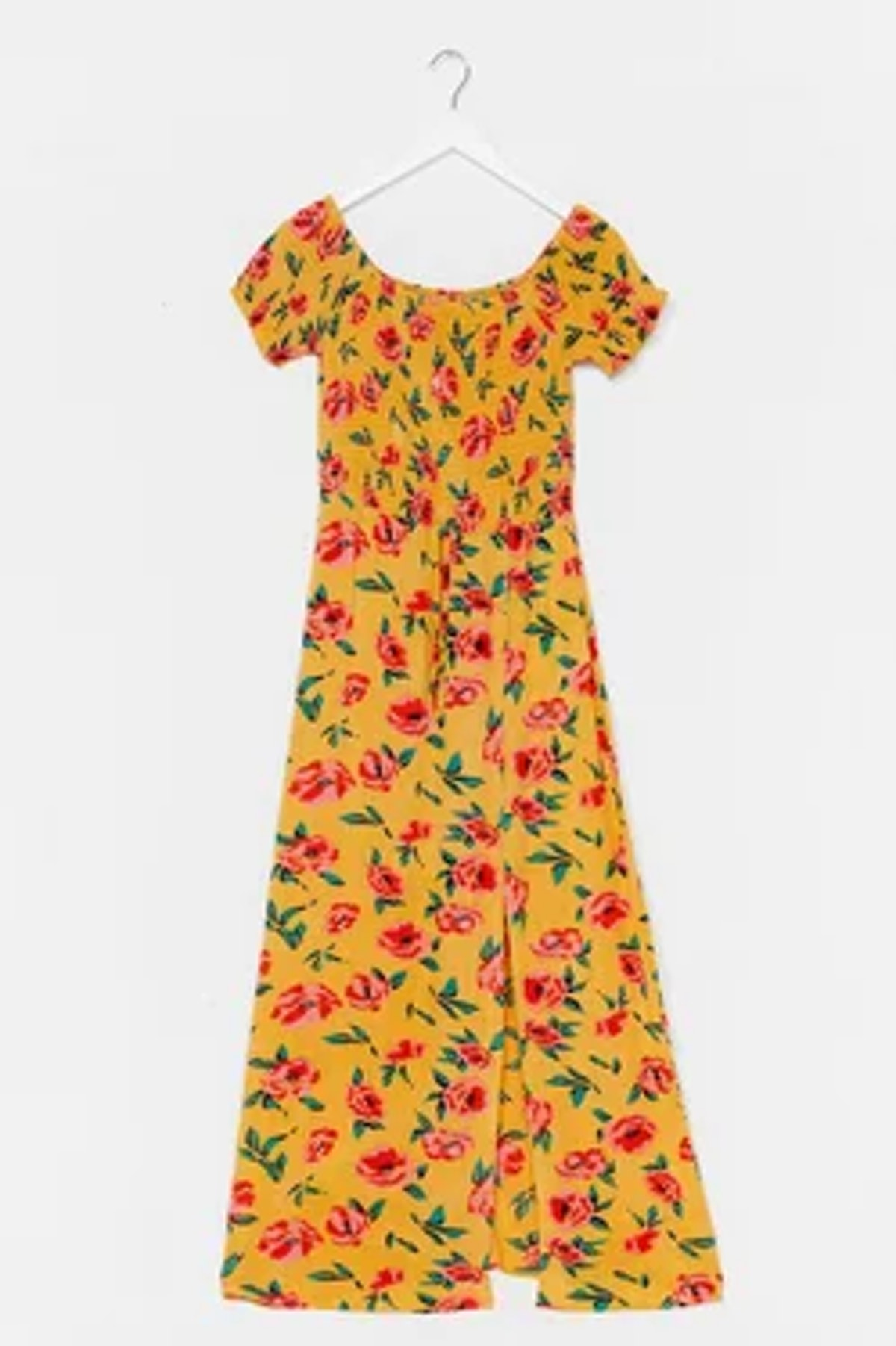 Nasty Gal Growing Places Floral Maxi Dress
