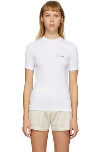 White Le T-Shirt de Collection