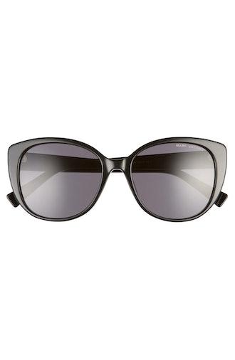 54mm Rounded Cat Eye Sunglasses