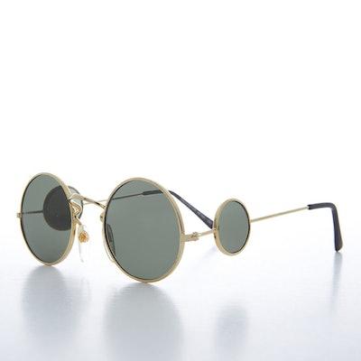 Sunglass Museum Round Side Lens Sunglasses