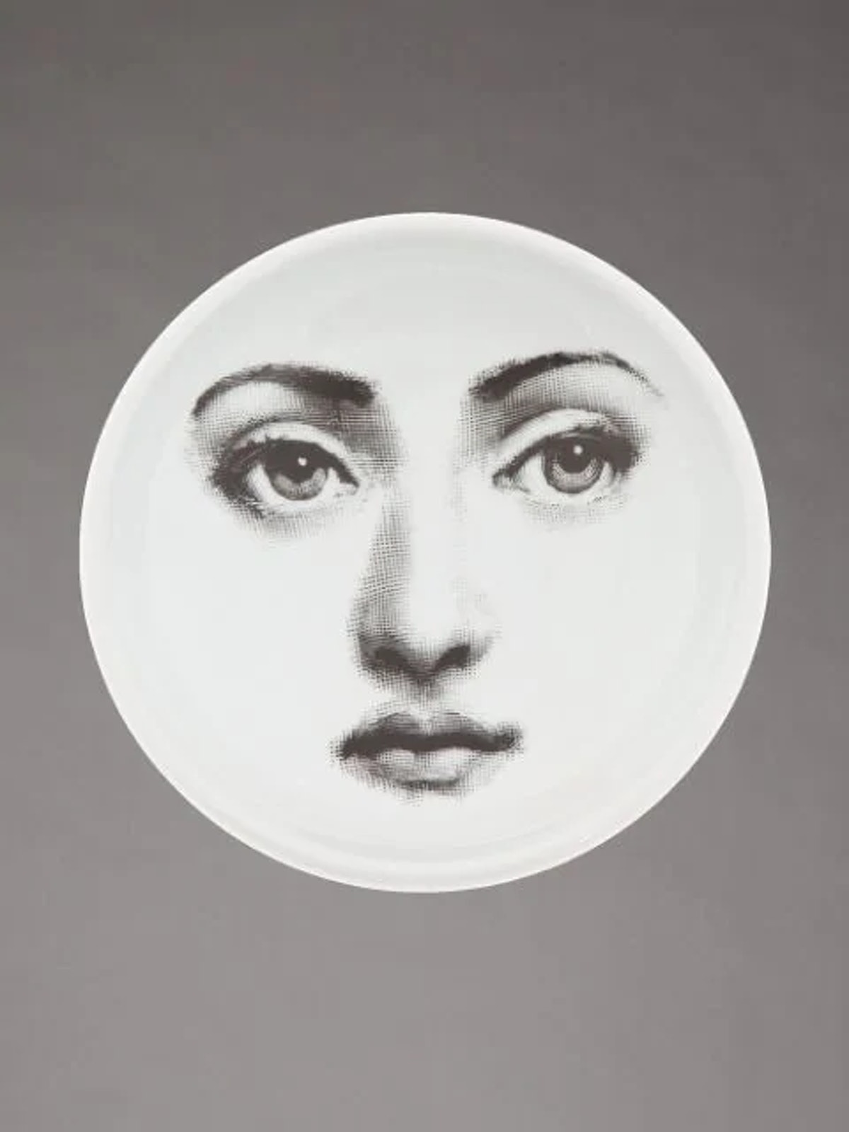 Face print dish