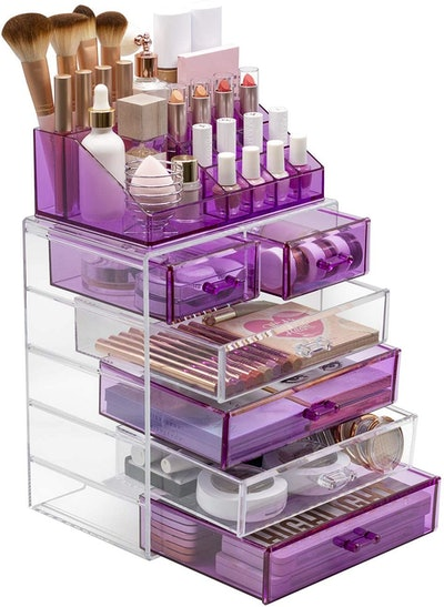 Sorbus Acrylic Cosmetic Makeup and Jewelry Storage