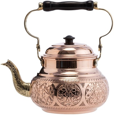 Demmex Hammered Copper Tea Kettle