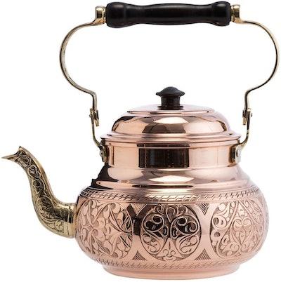 Demmex Hammered Copper Tea Kettle