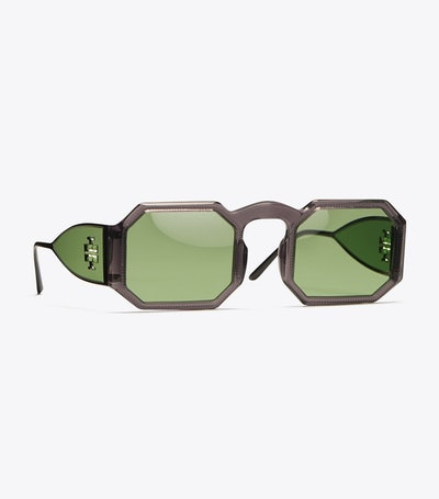 Tory Burch Octagonal Sunglasses